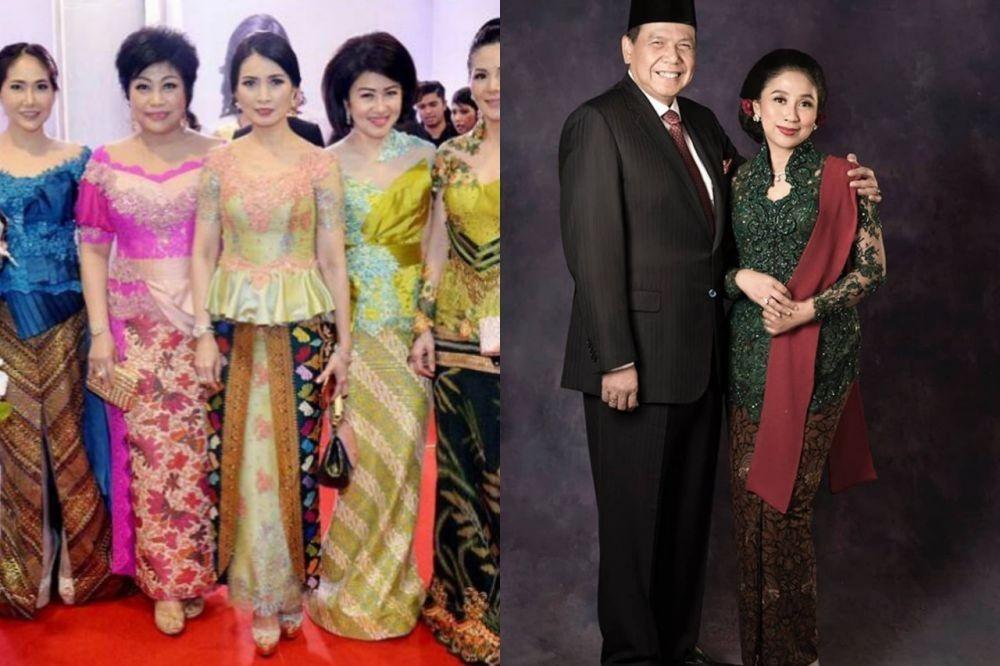 10 Adu Gaya Kebaya Liliana Tanoe Vs Anita Tanjung, Kartini Masa Kini
