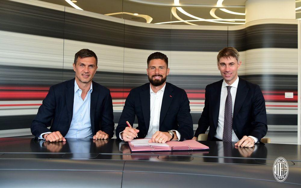 Giroud Kayak Anak Kecil Gabung AC Milan