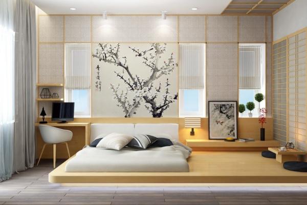 6 Sentuhan Oriental Jepang untuk Kamar Tidur, Antik Mirip Ryokan!