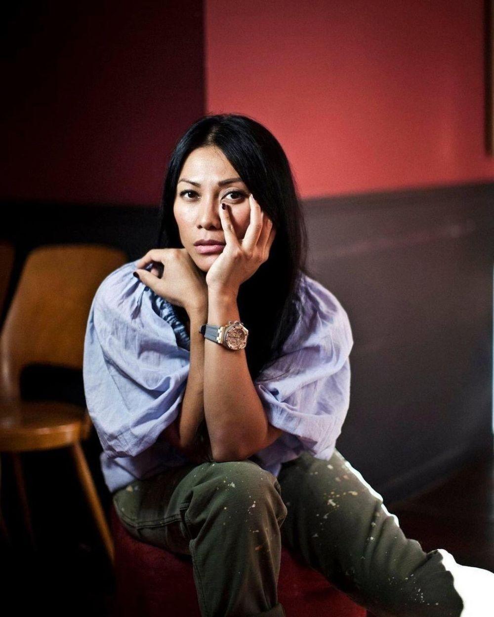 Gokil! 10 Potret Anggun C Sasmi Main Film Perancis