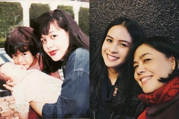 Anggun Banget, 10 Potret Manis Masa Muda Ibunda Maudy Ayunda