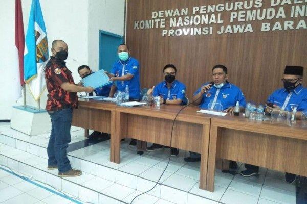 Tiga Calon Ketua SiapBersaing di Musda XV KNPI Jabar