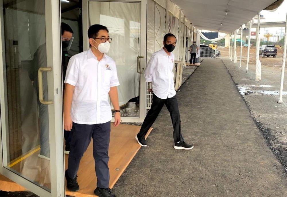 Tinjau Rumah Oksigen, Jokowi: Awal Agustus Bisa Tampung 500 Pasien