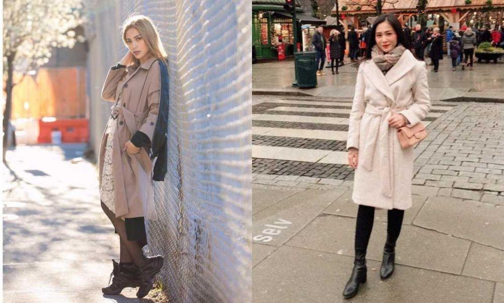 10 Adu Gaya Bunga Zainal Vs Jessica Iskandar, Kece ketika Traveling!