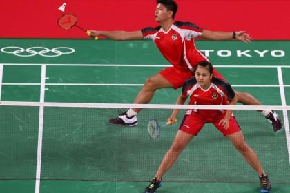 Hasil Wakil Indonesia 16 Besar Denmark Open 2021