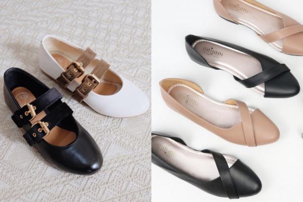 5 Rekomendasi Flat Shoes dari Merek Lokal, Stylish dan Tetap Nyaman