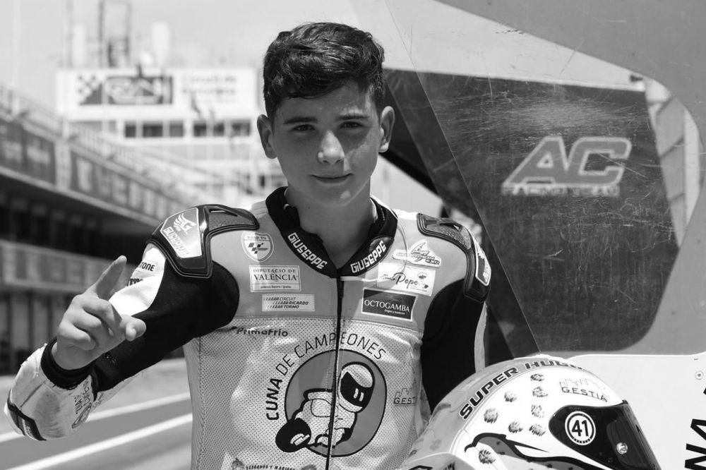 Pembalap 14 Tahun Asal Spanyol Tewas di Atas Lintasan