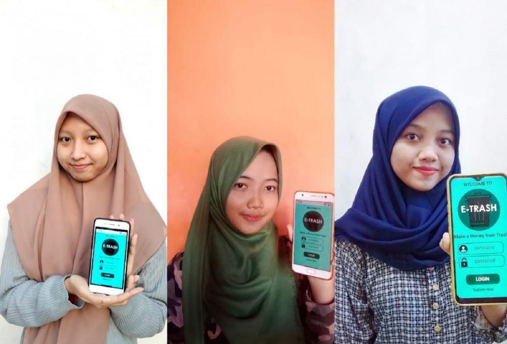 Mahasiswa ITS Ciptakan E-Trash, Platform Jual Beli Sampah Online