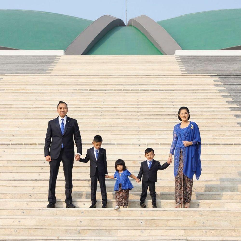 10 Kebaya Keluarga Presiden Indonesia, Pesonanya Tak Bisa Disangkal
