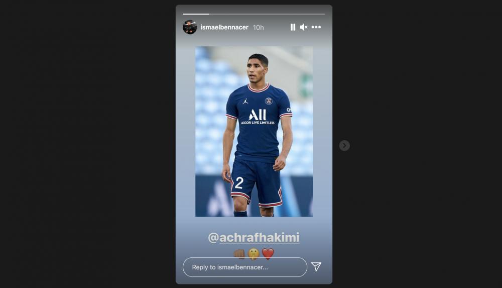 Hakimi Dicemooh Fans Israel saat PSG Bentrok dengan Lille