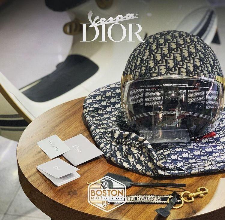 10 Penampakan Vespa Dior yang Diidamkan Nagita Slavina, Bikin Ngiler!