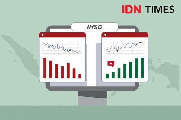 IHSG Ditutup Melemah, 4 Saham Catat Transaksi Lebih dari 30 Ribu