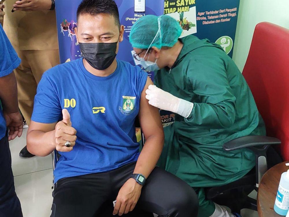 30 Pemain Persikota Tangerang Terima Vaksin Pfizer