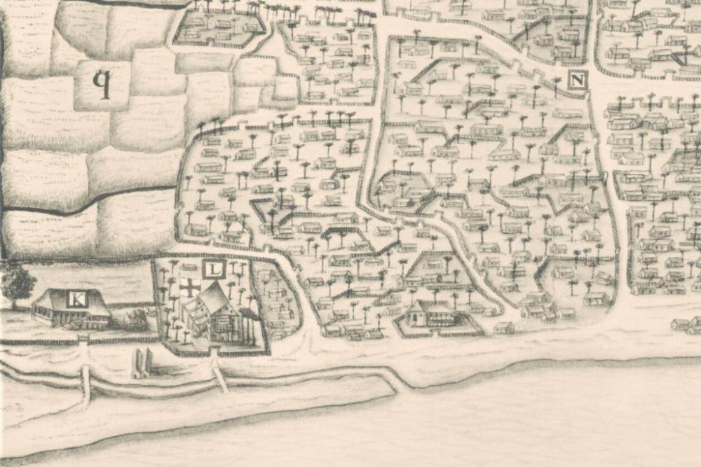 Menguak Peta Makassar Tahun 1638, Bukti Kejayaan Gowa di Masa Lalu