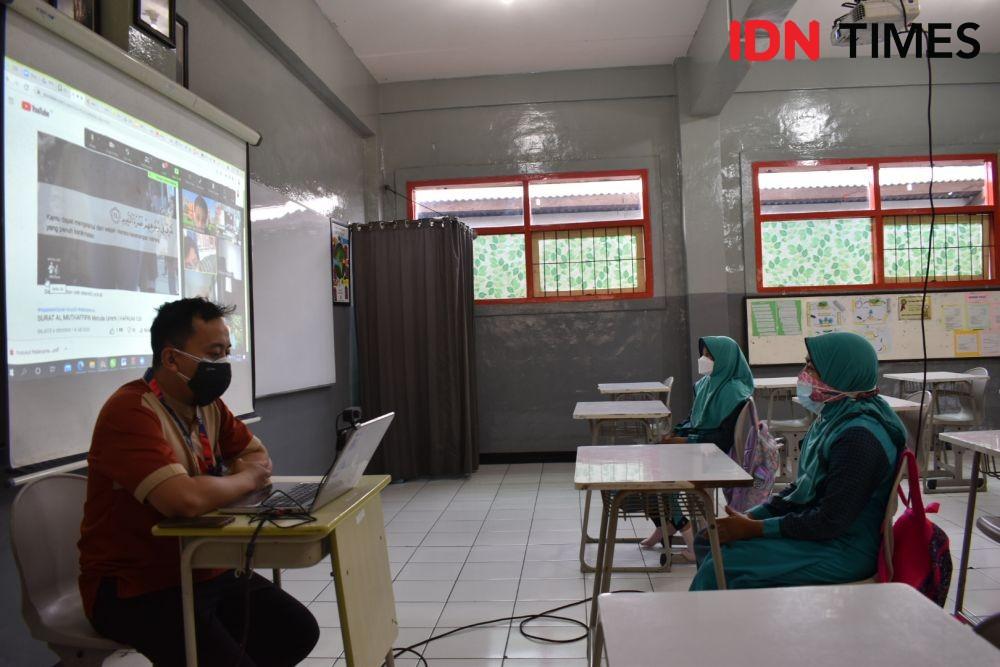76 Sekolah di Kota Bandung Belum Lolos Verifikasi PTM Terbatas