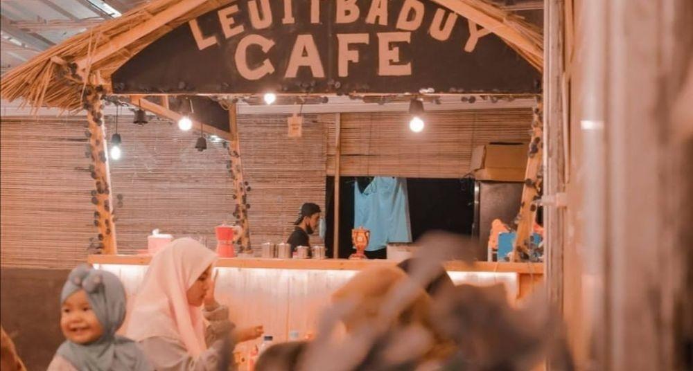 Leuit Baduy Cafe, Tempat Ngopi Kekinian yang Kenalkan Kebudayaan Lebak