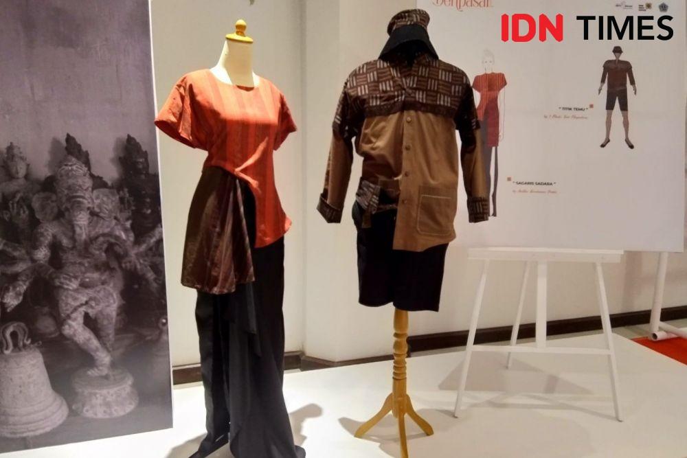 10 Inspirasi Desain Busana dari Kain Endek Versi Anak Muda Bali