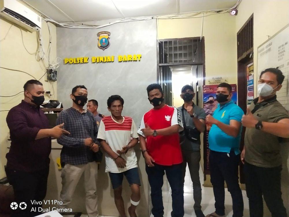 Sering Mencuri di Kampung Sendiri, Pria Binjai Ini Ditembak Polisi