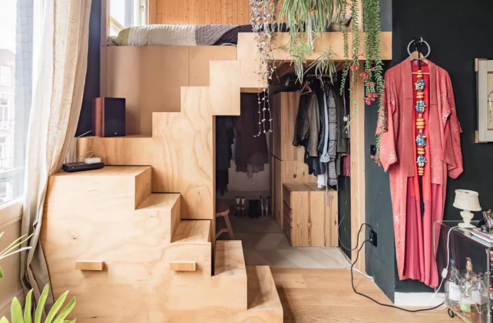 16 Desain Kamar Tidur Bergaya Mezzanine, Solusi Rumah Sempit