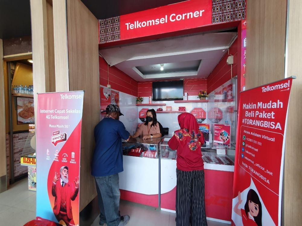 Deretan Persiapan Telkomsel Dukung Akses Telekomunikasi PON Papua 2021