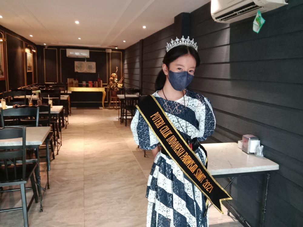 Wakili Medan, Ini Persiapan Petra Zoe Jadi CalonPutri Cilik Indonesia