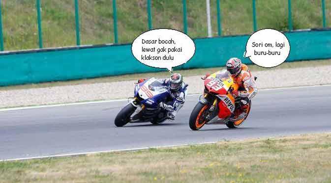 Meme Moto GP yang Bikin Kamu Ketawa Terpingkal-Pingkal