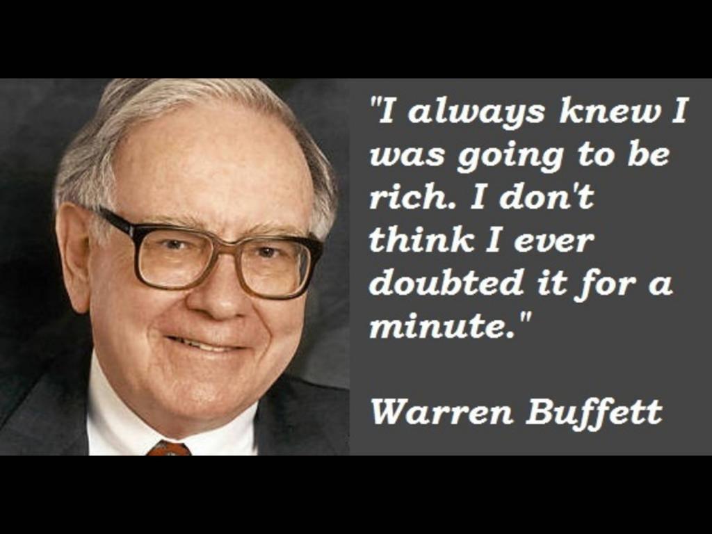 12 Nasehat Warren Buffet Ini Akan Membuatmu Berada di Jalur yang Benar